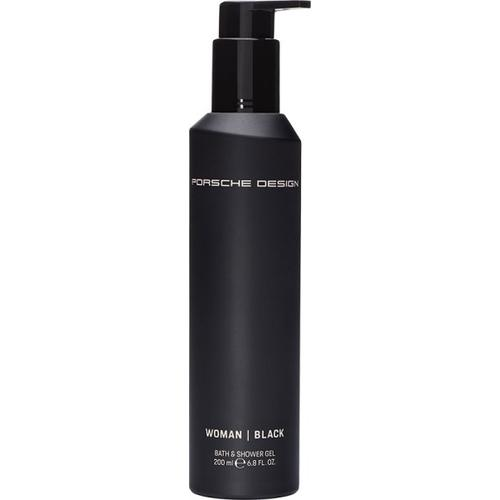 Porsche Design Woman Black Bath & Shower Gel 200 ml Duschgel