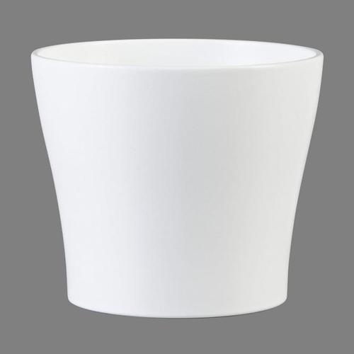 Übertopf Panna, 19cm, Weiß