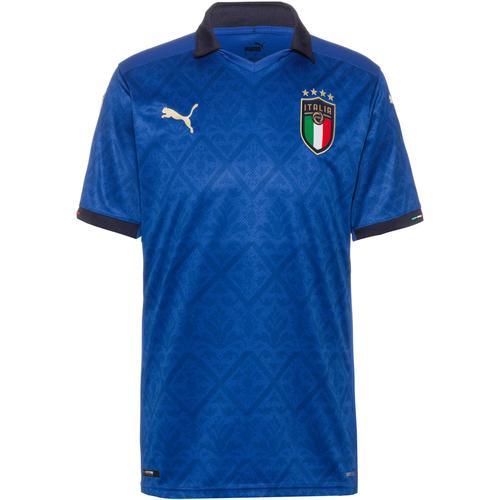 PUMA Italien 2021 Heim Trikot Herren in team power blue-peacoat, Größe XL