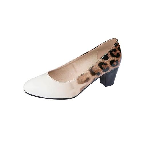Pumps Liva Loop Creme-Weiß