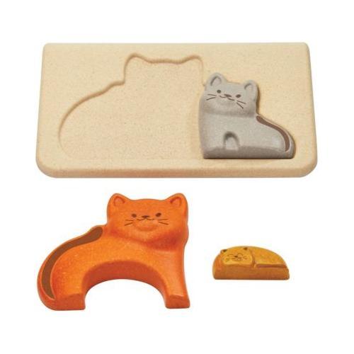 Rahmenpuzzle Katzen Steckpuzzle