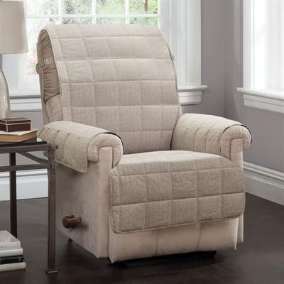 Ridgely Furniture Protector Natural Recliner/Wing Chair, Recliner/Wing Chair, Natural