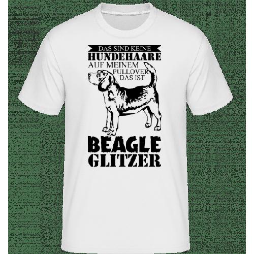 Hundehaare Beagle Glitzer - Shirtinator Männer T-Shirt