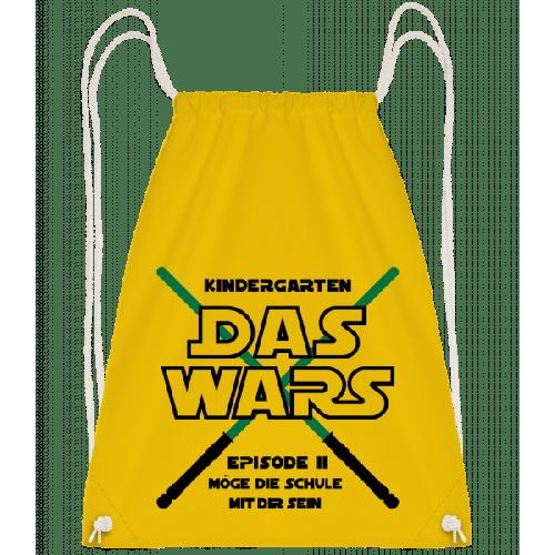 Kindergarten - Das Wars - Turnbeutel