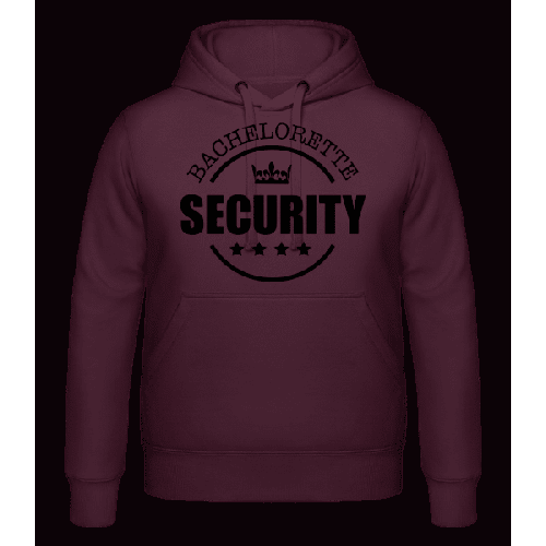 Bachelorette Security - Kapuzenhoodie