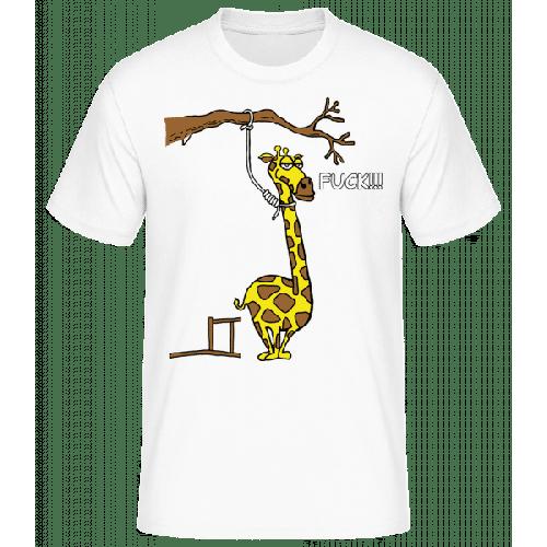 Selbstmordgefährdete Giraffe - Männer Basic T-Shirt