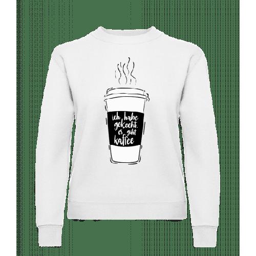 Ich Habe Gekocht - Frauen Pullover