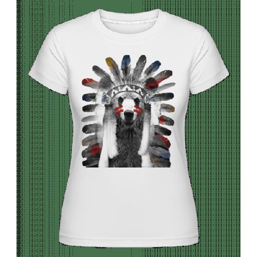 Indianer Bär - Shirtinator Frauen T-Shirt