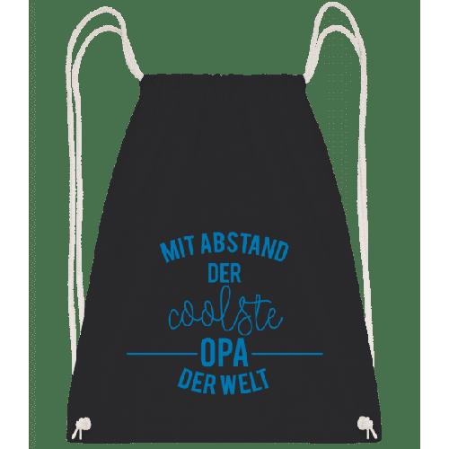 Mit Abstand Der Coolste Opa Der Welt - Turnbeutel