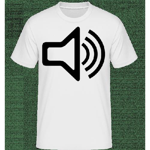 Lautsprecher Symbol - Shirtinator Männer T-Shirt