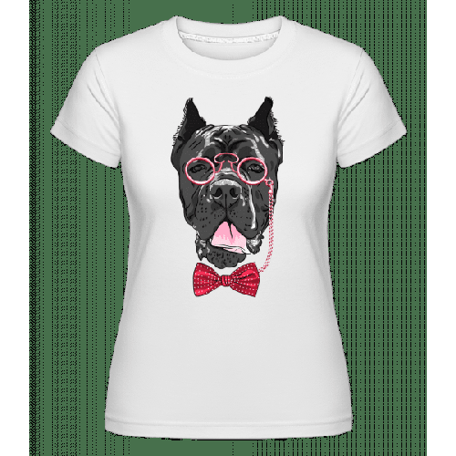 Hund Mit Brille - Shirtinator Frauen T-Shirt