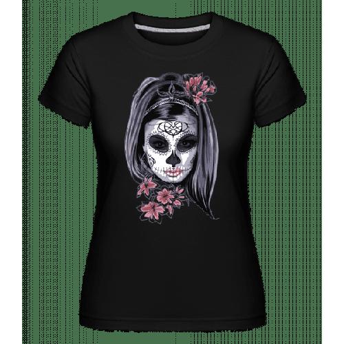 Gruselmädchen Maske - Shirtinator Frauen T-Shirt