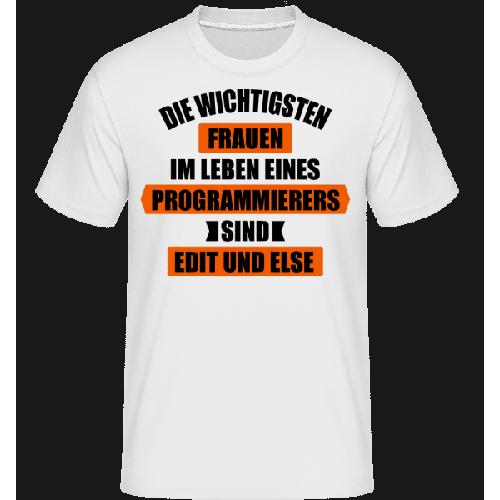 Programmierer Edit Else - Shirtinator Männer T-Shirt
