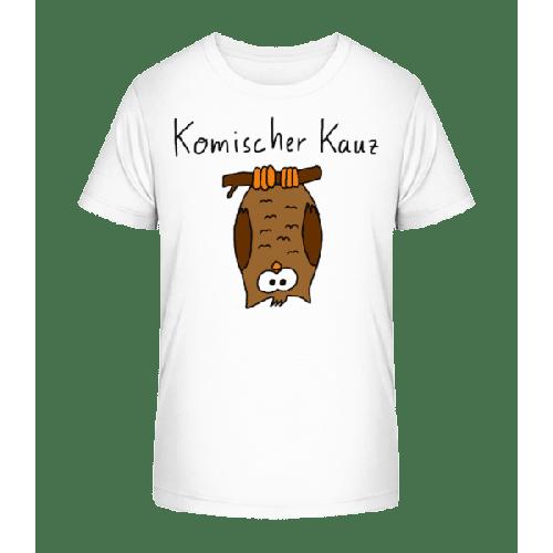 Komischer Kauz - Kinder Premium Bio T-Shirt