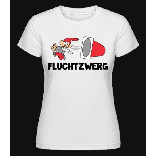 Fluchtzwerg - Shirtinator Frauen T-Shirt