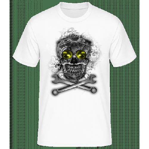 Maschinen Totenkopf - Basic T-Shirt
