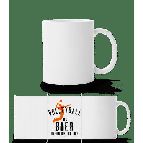 Volleyball Und Bier - Panoramatasse