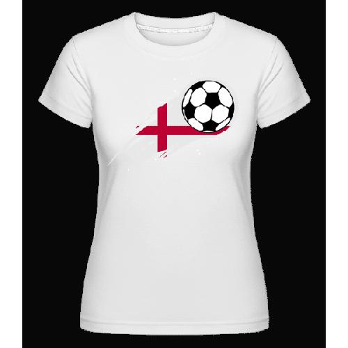 Englische Fahne Fußball - Shirtinator Frauen T-Shirt