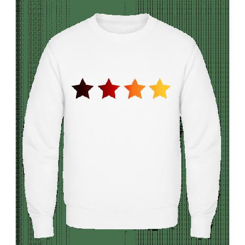 Sterne Deutsche Fahne - Männer Pullover