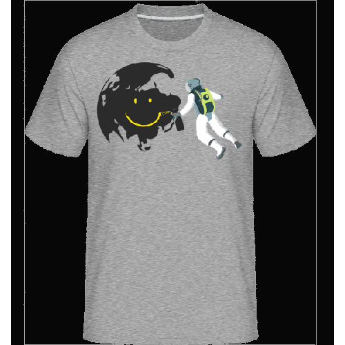 Lächelnder Mond - Shirtinator Männer T-Shirt