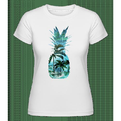 Ananas Palmen - Shirtinator Frauen T-Shirt
