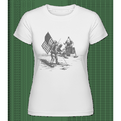 Mondlandung Apollo - Shirtinator Frauen T-Shirt