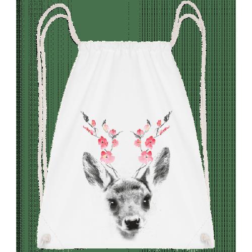 Frühlings Reh - Turnbeutel