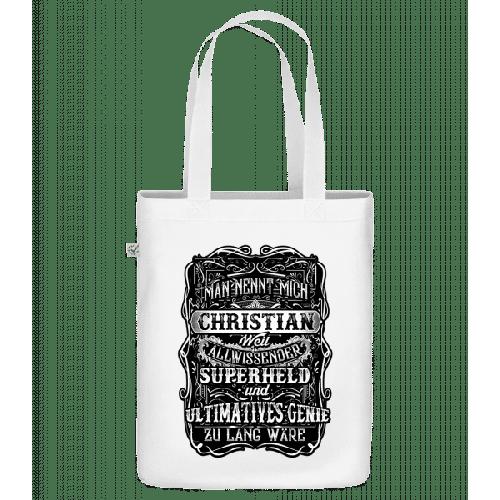 Man Nennt Mich Christian - Bio Tasche
