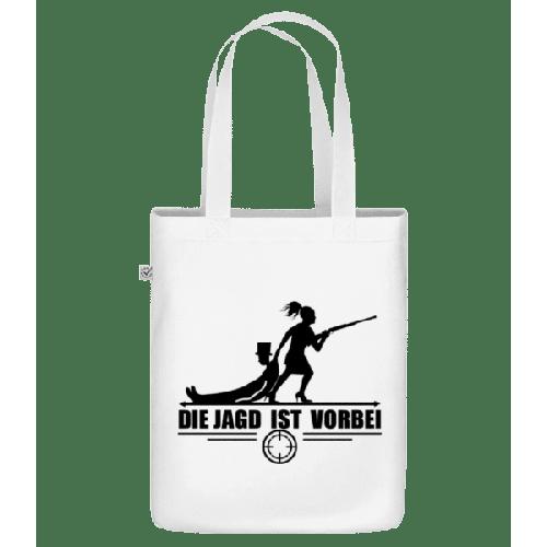 Die Jagd Ist Vorbei - Bio Tasche