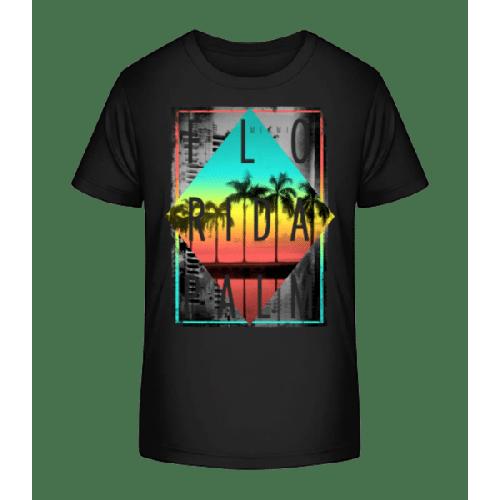 Florida Palm - Kinder Premium Bio T-Shirt