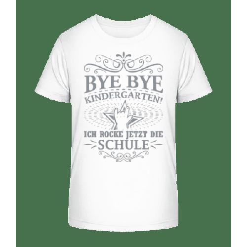 Ich Rocke Die Schule - Kinder Premium Bio T-Shirt