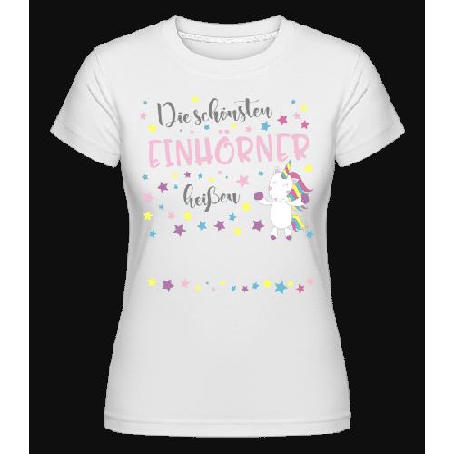 Die Schönsten Einhörner - Shirtinator Frauen T-Shirt