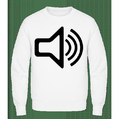 Lautsprecher Symbol - Männer Pullover
