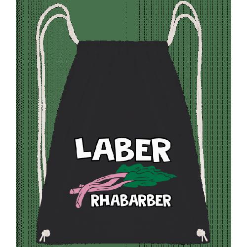 Laber Rhabarber - Turnbeutel