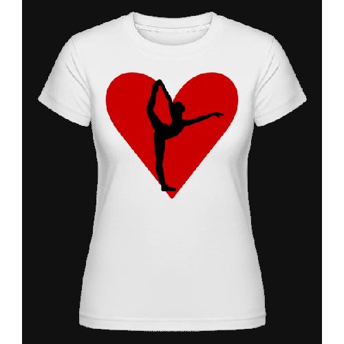 Yoga Herz - Shirtinator Frauen T-Shirt