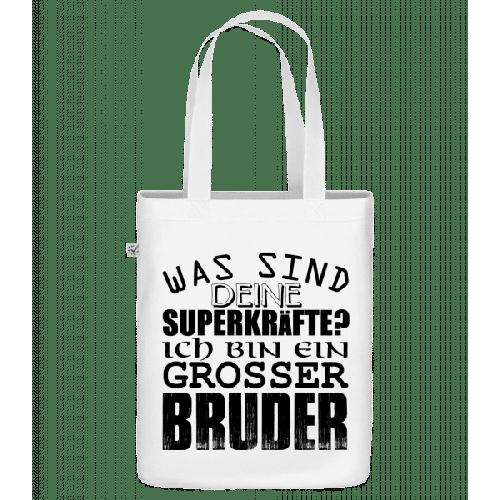 Superkräfte Grosser Bruder - Bio Tasche