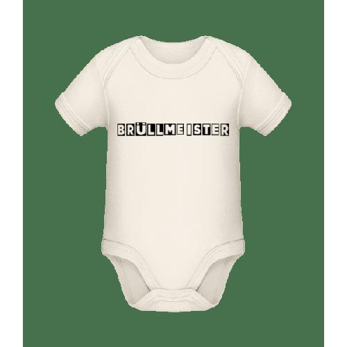 Brüllmeister - Baby Bio Strampler