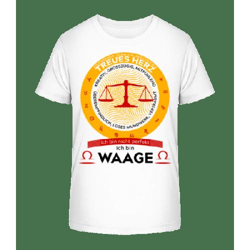 Sternzeichen Waage - Kinder Premium Bio T-Shirt