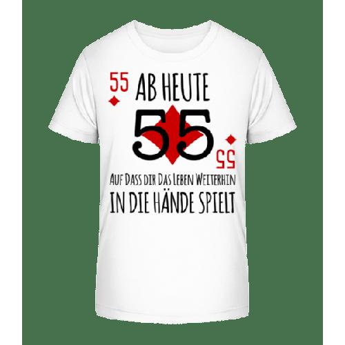 Schnapszahl 55 - Kinder Premium Bio T-Shirt