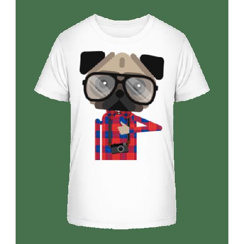 Nerdiger Hund - Kinder Premium Bio T-Shirt