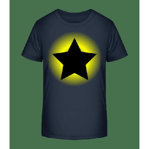 Leuchtender Stern - Kinder Premium Bio T-Shirt