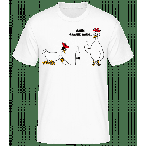 Ein Blindes Huhn - Basic T-Shirt