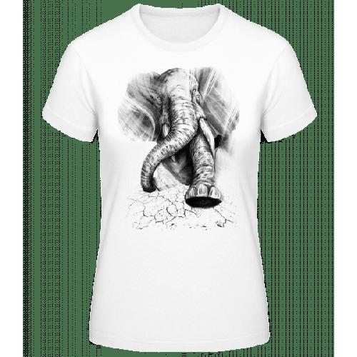 Aggro Elefant - Frauen Basic T-Shirt