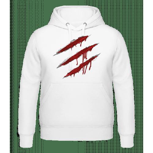 Blutige Kratzer - Kapuzenhoodie