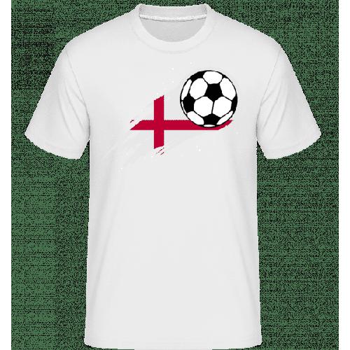 Englische Fahne Fußball - Shirtinator Männer T-Shirt