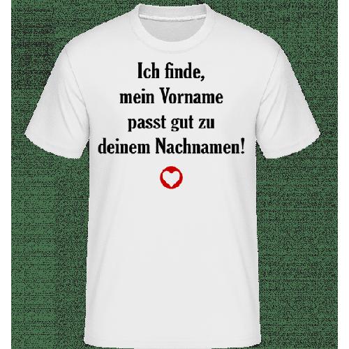 Mein Vorname - Dein Nachname - Shirtinator Männer T-Shirt