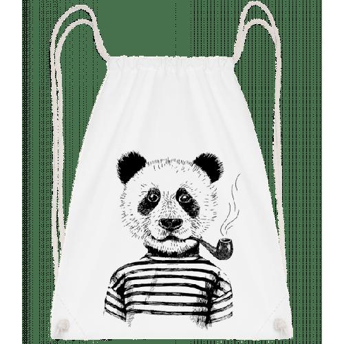 Hipster Panda - Turnbeutel