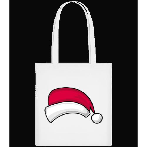 Weihnachtsmütze - Stoffbeutel