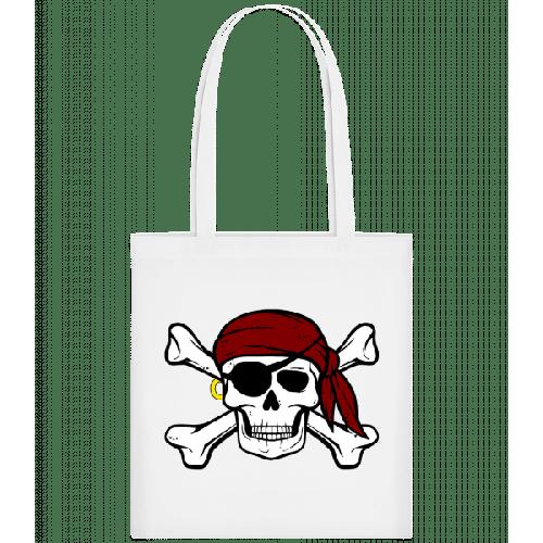 Piraten Totenkopf - Stoffbeutel