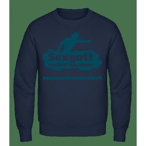 Junggesellenabschied Sexgott - Männer Pullover